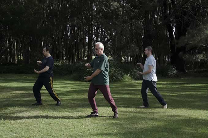 tai-chi ward off posture